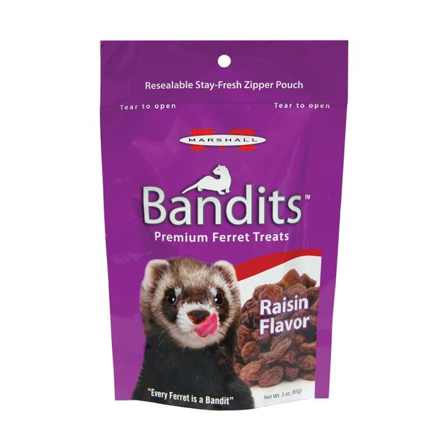 Marshall Bandits Raisin Treat 3 oz - Exotic Wings and Pet Things