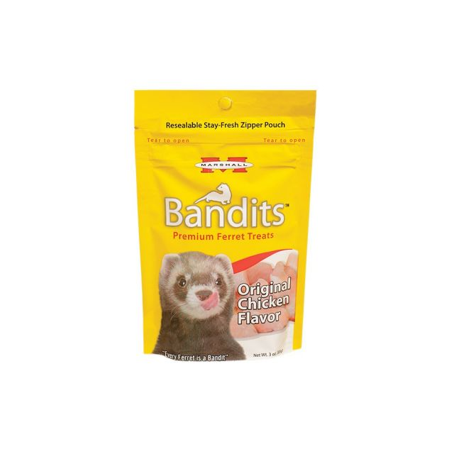 Marshall Bandits Original Chicken Treat 3 oz - Exotic Wings and Pet Things