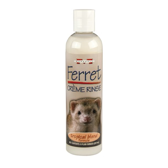 Marshall Tropical Blend Formula Creme Rinse for Ferrets 8 oz - Exotic Wings and Pet Things