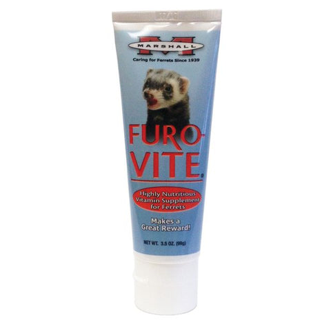 Marshall Furo-Vite Vitamin Paste Supplement for Ferrets 3.5 oz - Exotic Wings and Pet Things
