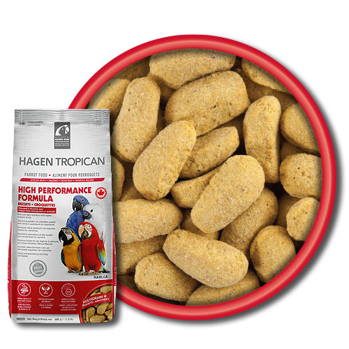 Tropican High Performance Biscuits for Parrots (25-28mm L)