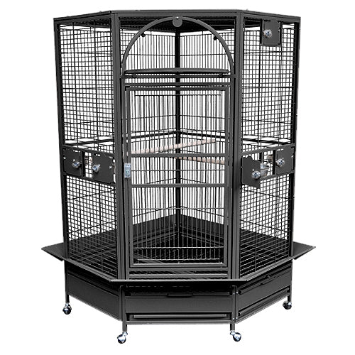 King's Cages GC14022 Corner Cage