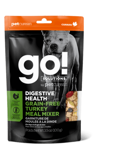 GO! Digestive Health Turkey Meal Mixer for Dogs 3.5 oz