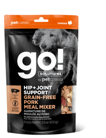 GO! Hip & Joint Support Pork Meal Mixer for Dogs 3.5 oz