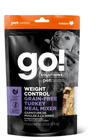 GO! Weight Control Turkey Meal Mixer for Dogs 3.5 oz