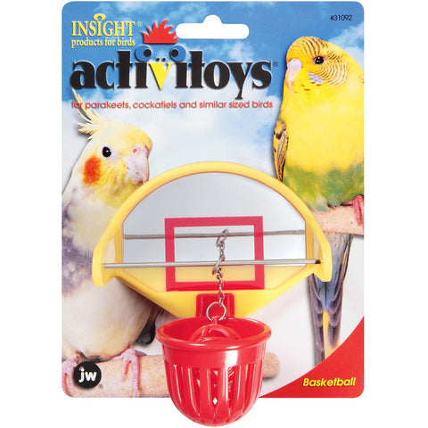 JW Activitoys Birdie Basketball - Exotic Wings and Pet Things