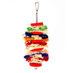 King's Cages Woven Chunky Bird Toy - Exotic Wings and Pet Things