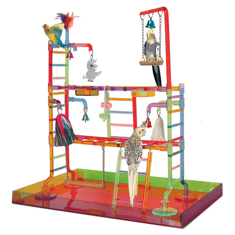 King's Cages K299 Acrylic Playpen