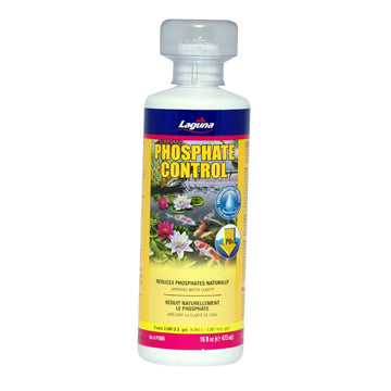 Laguna Phosphate Control - 473 mL (16 fl oz) Naturally Improves Pond Water Clarity & Overall Pond Conditions