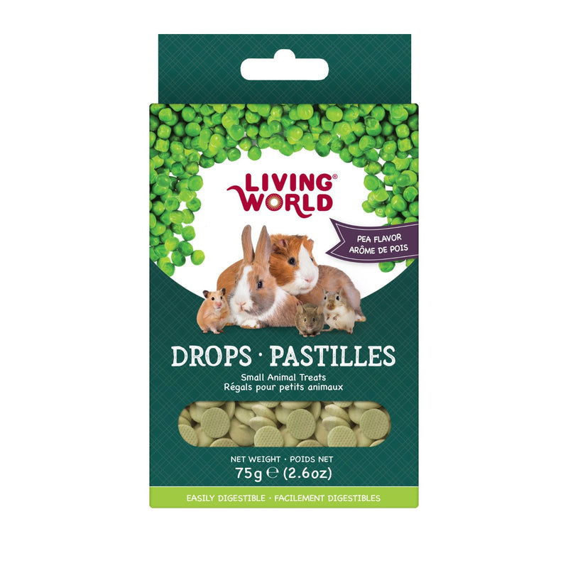 Living World Pea Drops 75 g - Exotic Wings and Pet Things