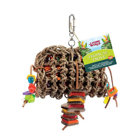 Living World Tropical Trove Foraging Pouch