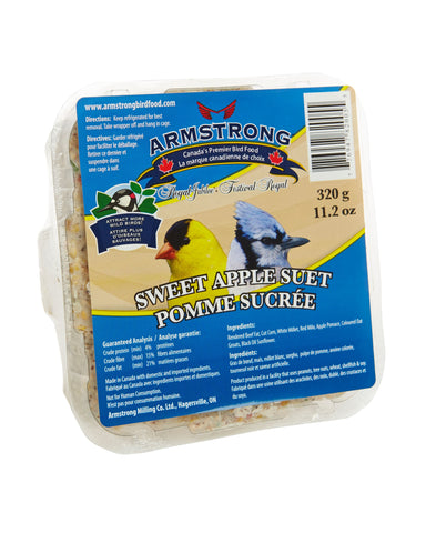Armstrong Royal Jubilee Sweet Apple Suet 320 g - Exotic Wings and Pet Things