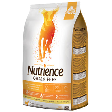 Nutrience Grain Free Turkey, Chicken & Herring - Exotic Wings and Pet Things