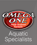 Omega One Veggie Mini Slow Sinking Pellets for Tropical Fish