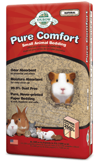 Oxbow Pure Comfort Bedding Natural - Exotic Wings and Pet Things