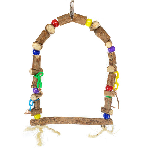 Parrot Lumber Jungle Swing (3 Sizes) - Exotic Wings and Pet Things