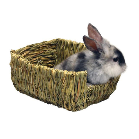 Marshall Woven Grass Pet Bed - Exotic Wings and Pet Things