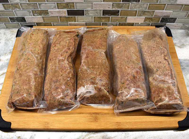 K9 Raw Dog Food BEEF | 3 Recipes | 10 lbs - Exotic Wings and Pet Things