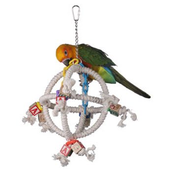 Super Bird Creations Orbiter Cotton Swing - Exotic Wings and Pet Things