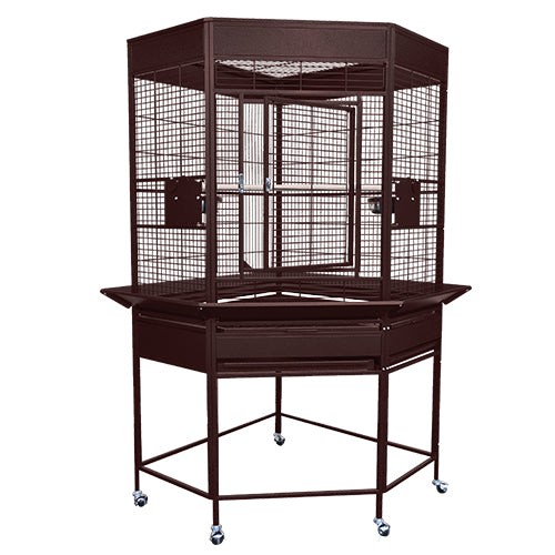 King's Cages SLCC3216 Economy Line Corner Cage