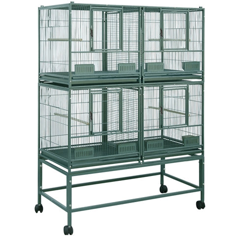 King's Cages SLFDD 4020 Superior Line Quad Cage