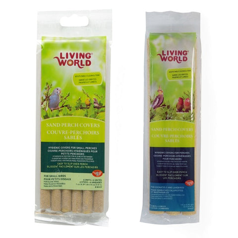 Living World Sand Perch Covers (2 Sizes) - Exotic Wings and Pet Things