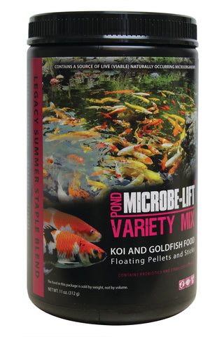 MICROBE-LIFT/LEGACY Variety Mix Koi & Gold Fish Pond Food
