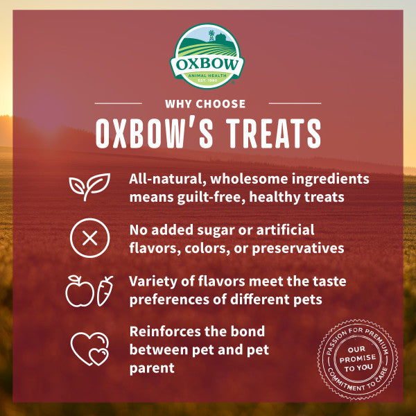 Oxbow Simple Rewards Baked Treat Carrot & Dill 2 oz