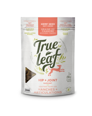 True Leaf Hip & Joint Support Dog Chew - Exotic Wings and Pet Things