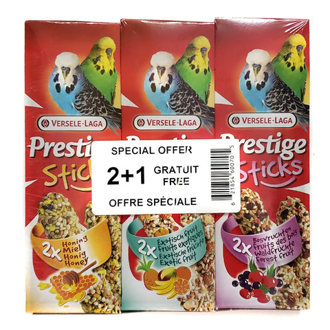 Versele-Laga Prestige Value Pack Treat Sticks For Budgies - Exotic Wings and Pet Things