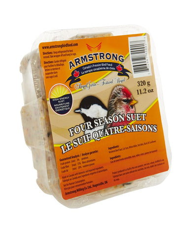 Armstrong Royal Jubilee Four Seasons Suet 1 pc / 3 pc - Exotic Wings and Pet Things