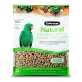 Zupreem Natural Parrot & Conure Pellet Daily Nutrition - Exotic Wings and Pet Things