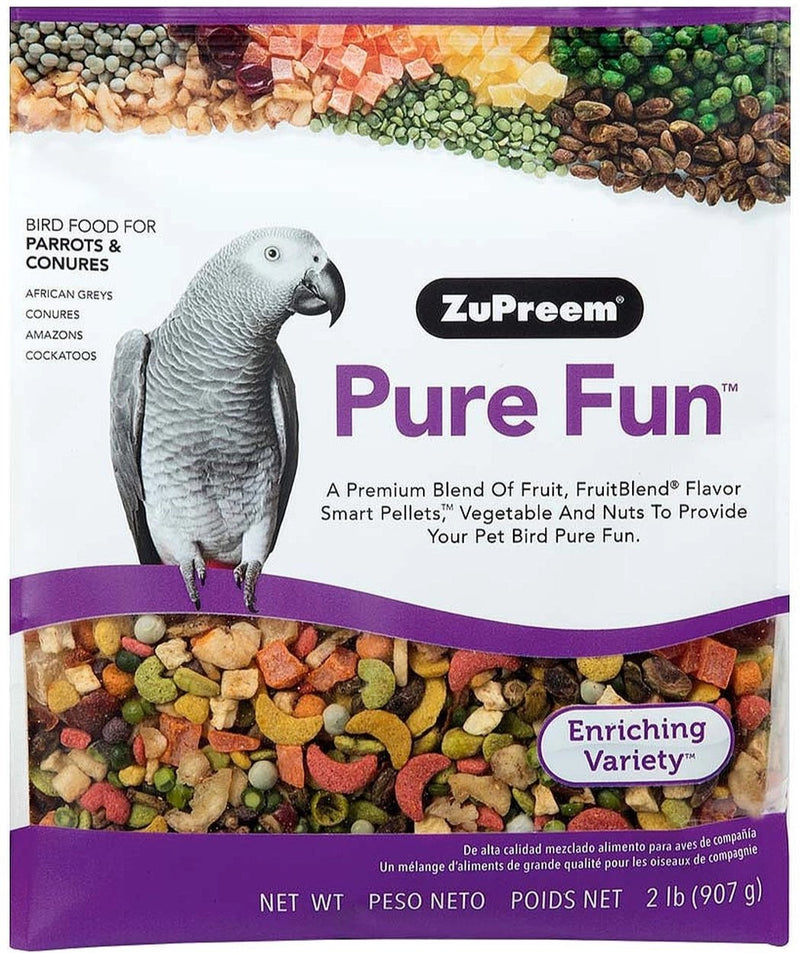 ZuPreem Pure Fun for Parrots & Conures - Exotic Wings and Pet Things