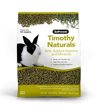 Zupreem Timothy Naturals® Rabbit Food 5 lb
