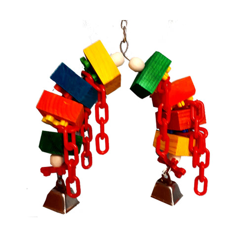 Billy Bird Bloc Arch Bird Toy - 2024 - Exotic Wings and Pet Things