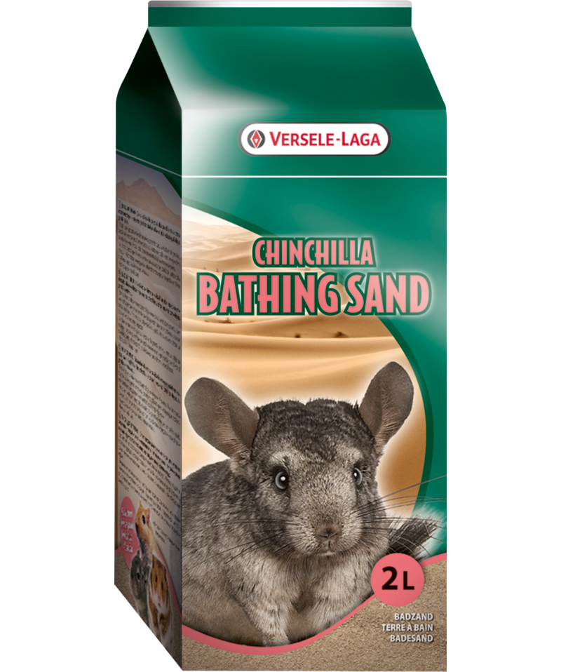 Versele-Laga Chinchilla Bathing Sand 1.3 kg - Exotic Wings and Pet Things