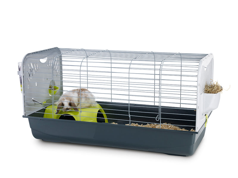 Savic Caesar 3 De Luxe Rabbit/Guinea Pig Cage - Exotic Wings and Pet Things