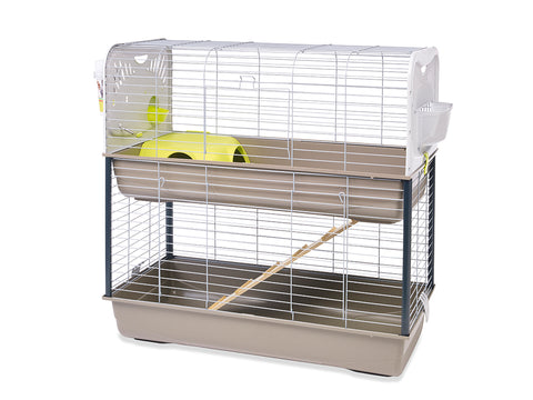 Savic Caesar 3 Double Knock Down Small Animal Cage - Exotic Wings and Pet Things