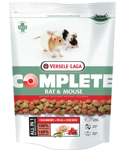 Versele-Laga Complete Rat & Mouse Food - Exotic Wings and Pet Things