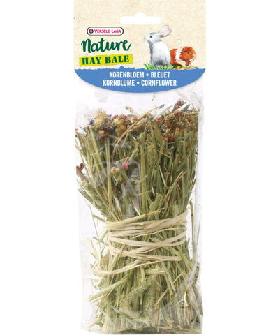 Versele-Laga Nature Snack Hay Bale Cornflower - Exotic Wings and Pet Things