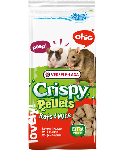 Versele-Laga Crispy Pellets Rat & Mice Food - Exotic Wings and Pet Things