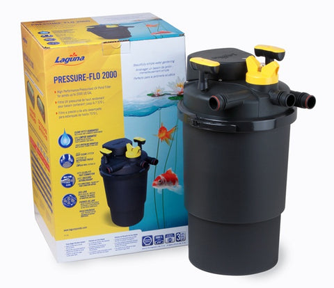 Laguna Pressure Flo 2000 High Performance Pond Filter with UVC Sterilizer - Exotic Wings and Pet Things