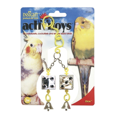 JW ActiviToys Dice - Exotic Wings and Pet Things