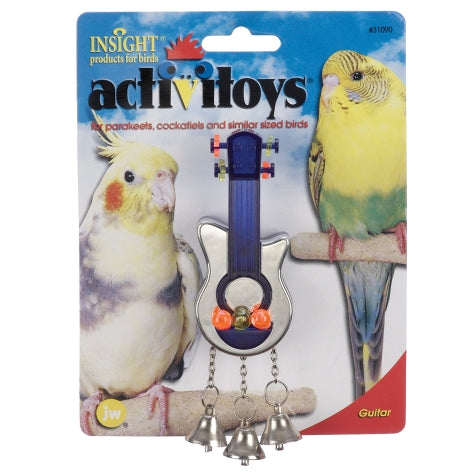 JW ActiviToys Guitar - Exotic Wings and Pet Things