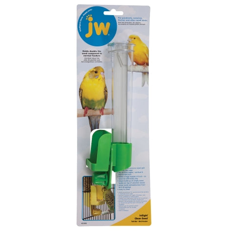 JW Insight Clean Seed Silo Bird Feeder - Exotic Wings and Pet Things