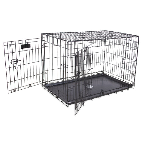 Precision Pet Provalu 2 Door Wire Crate - Exotic Wings and Pet Things