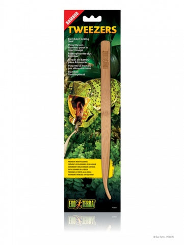 Exo Terra Bamboo Feeding Tweezers - Exotic Wings and Pet Things