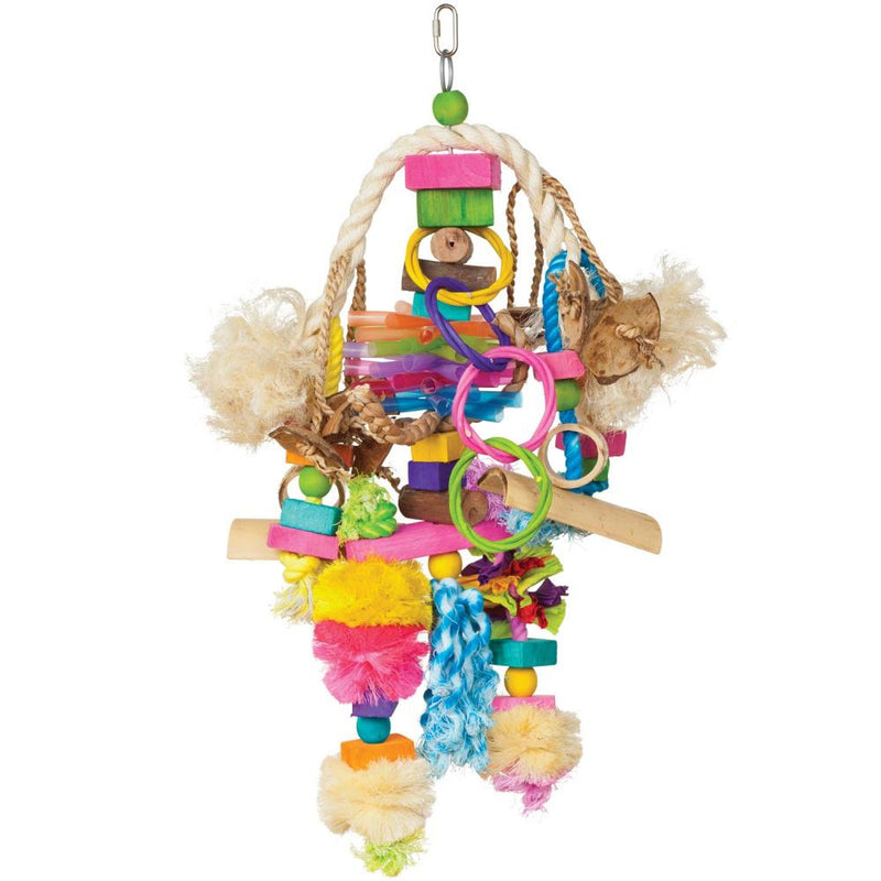 Prevue Hendryx Bodacious Bites Explosion Large Bird Toy