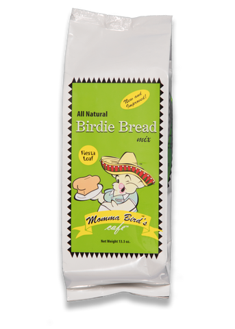 Momma Bird's Birdie Bread Fiesta Loaf 13.5 oz - Exotic Wings and Pet Things