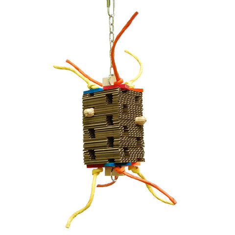 Zoo Max Foraging Tower  Bird Toy - Exotic Wings and Pet Things